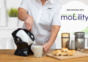 Uccello Kettle and First Choice Mobility UK