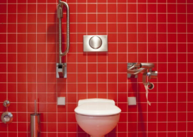 Disabled Bathroom at home