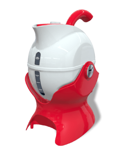 Uccello Kettle Red & White